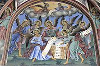 BG41196.JPG BULGARIA, RILA MONASTERY, CHURCH OF NATIVITY, frescoes