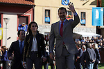 Prince Felipe of Spain and Princess Letizia of Spain visit the northern village of Teverga during the celebration of the 2013 Prince of Asturias Awards in Teverga, Spain. Teverga received the honorary mention of Exemplary Village in 2013. October 26, 2013..(ALTERPHOTOS/Victor Blanco)