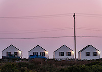 Beach cottages, Truro, Cape Cod, Massachusetts, USA