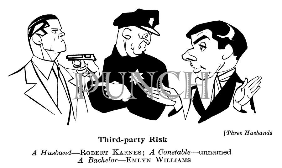 Three Husbands ; Robert Karnes and Emlyn Williams