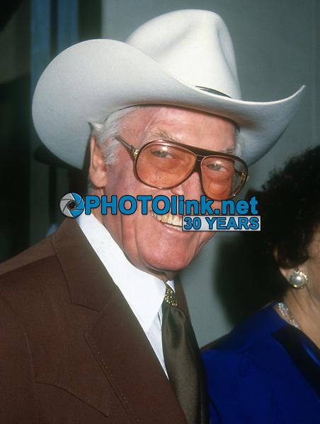 Clayton Moore, 1992, Photo By Michael Ferguson/PHOTOlink