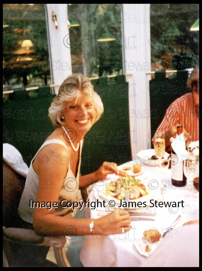 Copyright Pic : James Stewart   .COLLECT PIC OF GWEN MAYOR : DUNBLANE TEACHER KILLED BY THOMAS HAMILTON AT DUNBLANE SCHOOL.......Payments to :-.James Stewart Photo Agency, Stewart House, Stewart Road, Falkirk. FK2 7AS      Vat Reg No. 607 6932 25.Office : 01324 630007        Mobile : 0421 416997.If you require further information then contact Jim Stewart on any of the numbers above.........