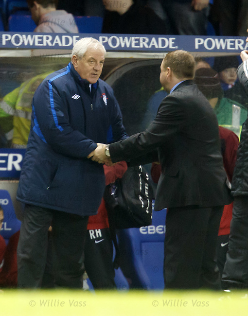 Walter Smith and Billy Reid