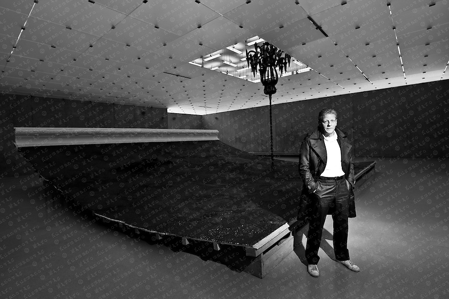 Jan Fabre, From the Cellar to the Attic From the Feet to the Brain, a Belgian multidisciplinary artist, playwright, stage director, choreographer and designer.