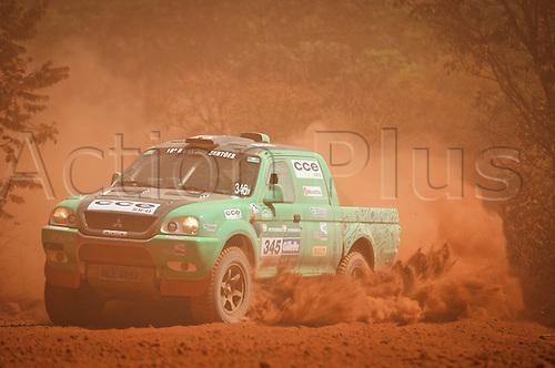 13 08 2010  driver Hugo Rodrigues and  Bentivoglio Durante 2010 Rally dos Sertes Brazil