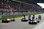 13.04.2019, Shanghai Audi International Circuit, Shanghai, 2019 FORMULA 1 HEINEKEN CHINESE GRAND PRIX<br /> im Bild<br />Poleposition f&uuml;r Valtteri Bottas (FIN#77), Mercedes-AMG Petronas Motorsport, 2. Startplatz f&uuml;r Lewis Hamilton (GB#44), Mercedes-AMG Petronas Motorsport, 3. Startplatz f&uuml;r Sebastian Vettel (GER#5), Scuderia Ferrari<br /> <br /><br /> <br /> Foto &copy; nordphoto / Bratic