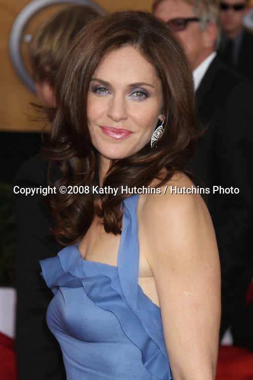 AMy Brenneman. arriving at the Screen Actors Guild Awards, at the Shrine Auditorium in Los Angeles, CA on .January 25, 2009.©2008 Kathy Hutchins / Hutchins Photo..