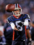 28 August 2008:  Buffalo Bills' punter Brian Moorman warms up on the sidelines during a game against the Detroit Lions at Ralph Wilson Stadium in Orchard Park, NY. The Lions defeated the Bills 14-6 in their fourth and final pre-season game...Mandatory Photo Credit: Ed Wolfstein Photo