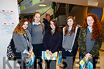 Tarbert Comprehensive Secondary School students, pictured at IT Tralee Open Day on Friday last were l-r;  Meghan Geoghegan, Ciara Haugh Nicole Fitzgerald Katie Thornton and Patrice Galvin.