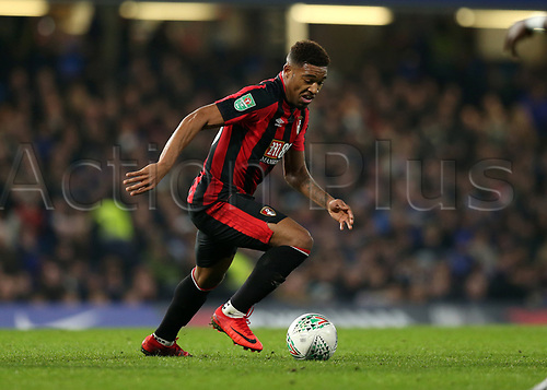 20th December 2017, Stamford Bridge, London, England; Carabao Cup quarter final, Chelsea versus Bournemouth; Jordon Ibe of Bournemouth in action