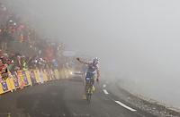 2010 Tour de France, Anthony Charteau.Col du Tourmelet