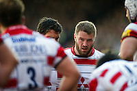 Paddy McAllister of Gloucester Rugby looks dejected after his side concede a try. Aviva Premiership match, between Leicester Tigers and Gloucester Rugby on April 2, 2016 at Welford Road in Leicester, England. Photo by: Patrick Khachfe / JMP