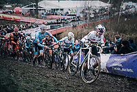 Wout Van Aert (BEL/Cibel-Cebon)<br /> <br /> Elite Men's Race<br /> Belgian National CX Championschips<br /> Kruibeke 2019
