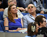 FLUSHING NY- SEPTEMBER 09: James Spada is sighted watching Madison Keys Vs. Sloane Stephens Stephens defeats Keys in straight sets 6-3, 6-0 during the Womens finals on Arthur Ashe Stadium at the US Open in the USTA Billie Jean King National Tennis Center on September 9, 2017 in Flushing Queens. <br /> CAP/MPI04<br /> &copy;MPI04/Capital Pictures
