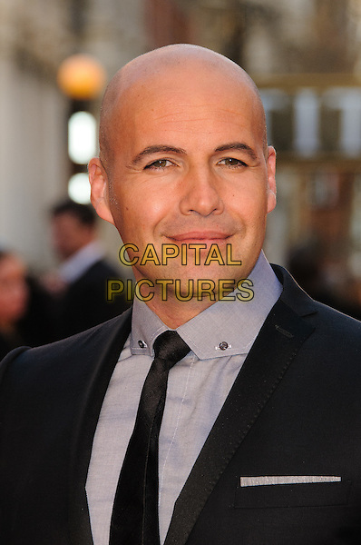 Billy Zane.'Titanic 3D' world premiere, Royal Albert Hall, London, England..27th March 2012.headshot portrait black suit shirt grey gray.CAP/CJ.©Chris Joseph/Capital Pictures.