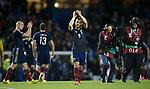 Shaun Maloney applauds the Scotland fans