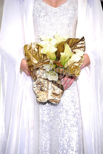 Nova Iorque, EUA &ndash; 10/2013 - Desfile de Theia durante a Semana de Moda Noiva - Inverno 2014. <br /> Foto: FOTOSITE