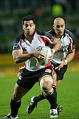Niva Ta'auso. Air New Zealand Cup rugby game between Waikato & Counties Manukau played at Rugby Park, Hamilton, on the 17th of August , 2007. Haltime 8 - 8. Fulltime Waikato 30 - Counties Manukau 8.