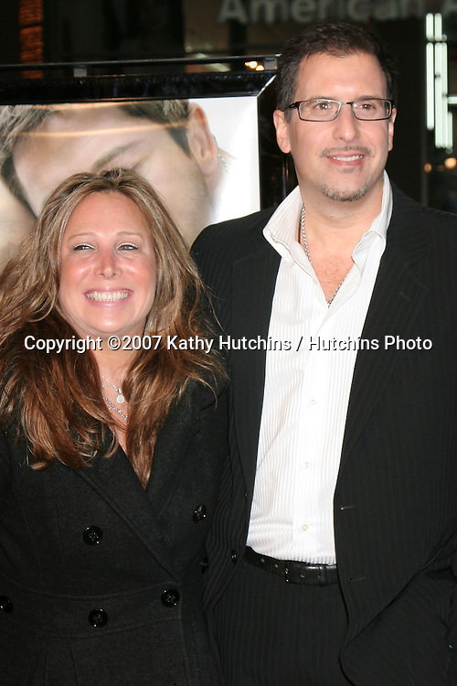 "Richard LaGravenese & Wife.""P.S. I Love You"" Premiere.Grauman's Chinese Theater.December 7, 2007.Los Angeles, CA.©2007 Kathy Hutchins / Hutchins Photo..."