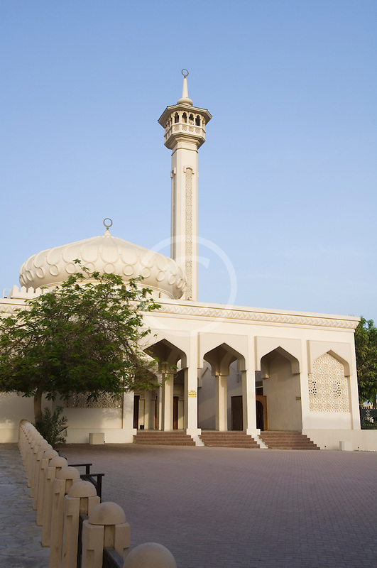 United Arab Emirates, Dubai, Bastikiya Mosque, courtyard
