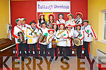 Pictured at the Glorach Theather Concert in Abbeyfeale celebrating the arrival of Spring on Saturday night were the headline act the Ballaugh Wrenboys.