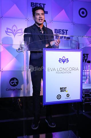 LOS ANGELES, CA - NOVEMBER 8: Mario Lopez at the Eva Longoria Foundation Dinner Gala honoring Zoe Saldaña and Gina Rodriguez at The Four Seasons Beverly Hills in Los Angeles, California on November 8, 2018. Credit: Faye Sadou/MediaPunch