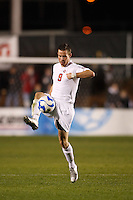 Ohio State Buckeyes midfielder Geoff Marsh (9) during an NCAA College Cup semi-final match at SAS Stadium in Cary, NC on December 14, 2007. Ohio State defeated Massachusetts 1-0.