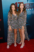 Los Angeles, CA - AUG 13:  Bianca D'Ambrosio and Chiara D'Ambrosio attends the Los Angeles Premiere of '47 Meters Down: Uncaged' at Regal Village Theater on August 13 2019 in Los Angeles CA. Credit: CraSH/imageSPACE/MediaPunch