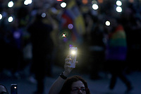 MEDELLIN, COLOMBIA - JULY 26: People participate in a demonstration against the murder of social leaders in Medellin, Colombia, on July 26, 2019. Photo by Fredy Builes/VIEWpress