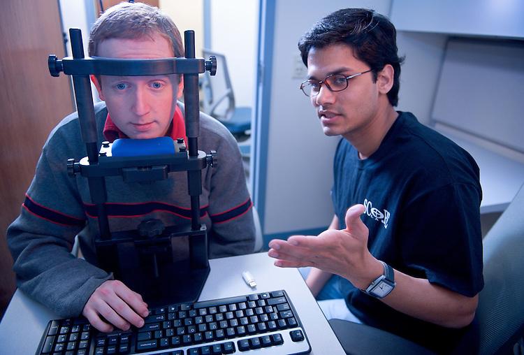 Dr. Ronaldo Vigo's Lab : Psychology Dept Lab photos:...Raghvendra Yadav and Gabriel Carspecken(left)