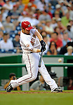 12 July 2008: Washington Nationals' right fielder Austin Kearns in action against the Houston Astros at Nationals Park in Washington, DC. The Astros defeated the Nationals 6-4 in the second game of their 3-game series...Mandatory Photo Credit: Ed Wolfstein Photo