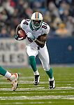 17 December 2006: Miami Dolphins wide receiver Chris Chambers (84) runs for yardage against the Buffalo Bills at Ralph Wilson Stadium in Orchard Park, New York. The Bills defeated the Dolphins 21-0.. .Mandatory Photo Credit: Ed Wolfstein Photo<br />