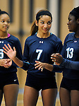9-29-15, Skyline High School varsity volleyball in action