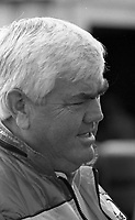NASCAR legend Junior Johnson, Atlanta Journal 500 at Atlanta International Raceway in Hampton, GA on November 6, 1983. (Photo by Brian Cleary/www.bcpix.com)