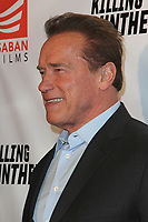 "LOS ANGELES - OCT 14:  Arnold Schwarzenegger at the ""Killing Gunther"" LA Special Screening at the TCL Chinese 6 Theater on October 14, 2017 in Los Angeles, CA"