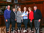 Drama<br /> Members of Abbeyfeale Drama Group present a cheque  to Nicole Doyle from Kilmorna , Listowel, who will will be traveling to Nansana Uganda on June 30th. and will be involved in education and health programmes for vulnerable children during her 5 week stay. <br /> L-R Pat Scannell, Maura Scannell, Elaine Hennessy O'Keeffe, Nicole Doyle , Chrissie O' Donnell , jerry Murphy.