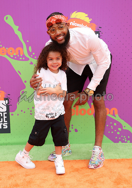 13 July 2017 - Los Angeles, California - Brandon Armstrong. Nickelodeon Kids' Choice Sports Awards 2017 held at Pauley Pavilion. Photo Credit: F. Sadou/AdMedia