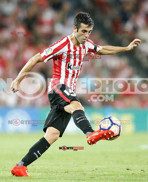 Athletic de Bilbao's Markel Susaeta during La Liga match. August 28,2016. (ALTERPHOTOS/Acero) /NORTEPHOTO