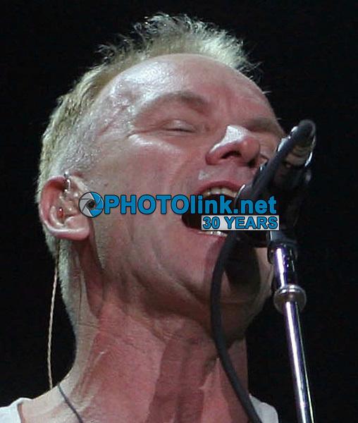 Sting<br /> 2007<br /> Photo By John Barrett/CelebrityArchaeology.com