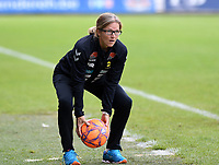 20190813 - DENDERLEEUW, BELGIUM : LSK's head coach Hege Riise pictured in action during the female soccer game between the Greek PAOK Thessaloniki Ladies FC and the Norwegian LSK Kvinner Fotballklubb Ladies , the third and final game for both teams in the Uefa Womens Champions League Qualifying round in group 8 , Tuesday 13 th August 2019 at the Van Roy Stadium in Denderleeuw  , Belgium  .  PHOTO SPORTPIX.BE for NTB | DAVID CATRY