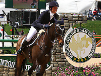 Meghan O'Donoghue and #38 Pirate at the Rolex Three Day Event.  April 28, 2013.