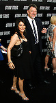 """HOLLYWOOD, CA. - April 30: Marina Sirtis and Jonathan Frakes arrive at the Los Angeles premiere of """"Star Trek"""" at the Grauman's Chinese Theater on April 30, 2009 in Hollywood, California."""