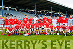 The East Kerry team before the Semi finals of the Kerry Senior GAA Football Championship between East Kerry and Saint Brendans at Fitzgerald Stadium on Sunday.