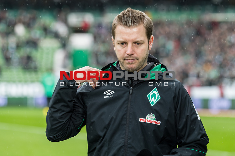 10.02.2019, Weserstadion, Bremen, GER, 1.FBL, Werder Bremen vs FC Augsburg<br /> <br /> DFL REGULATIONS PROHIBIT ANY USE OF PHOTOGRAPHS AS IMAGE SEQUENCES AND/OR QUASI-VIDEO.<br /> <br /> im Bild / picture shows<br /> Florian Kohfeldt (Trainer SV Werder Bremen), <br /> <br /> Foto &copy; nordphoto / Ewert
