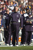 05 November 2006:  Cowboys head coach Bill Parcells (The Tuna).  The Washington Redskins defeated the Dallas Cowboys 22-19 at FedEx Field in Landover, MD.