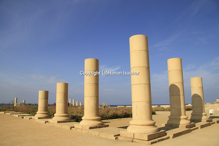 Israel, Sharon region, the Reef Palace in Caesarea