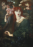 La Ghirlandata, 1873 (oil on canvas), Rossetti, Dante Gabriel Charles (1828-82) / Guildhall Art Gallery, City of London