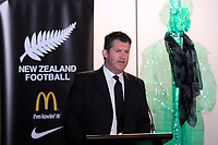 NZ Football chief executive Andy Martin. Football Ferns Collective Bargaining Agreement function at the National Library in Wellington, New Zealand on Wednesday, 6 May 2018. Photo: Dave Lintott / lintottphoto.co.nz
