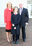 Shauna Kelly with her parents Alan and Brenda at Donacarney NS Confirmation in The Star of the Sea Church...Photo NEWSFILE/Jenny Matthews.(Photo credit should read Jenny Matthews/NEWSFILE)....This Picture has been sent you under the condtions enclosed by:.Newsfile Ltd..The Studio,.Millmount Abbey,.Drogheda,.Co Meath..Ireland..Tel: +353(0)41-9871240.Fax: +353(0)41-9871260.GSM: +353(0)86-2500958.email: pictures@newsfile.ie.www.newsfile.ie.FTP: 193.120.102.198.