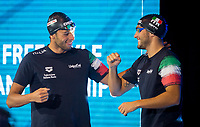 400 m Freestyle Men<br /> Gregorio Paltrinieri ITA Italy<br /> Gabriele Detti ITA Italy<br /> day 02  09-08-2017<br /> Energy For Swim<br /> Rome  08 -09  August 2017<br /> Stadio del Nuoto - Foro Italico<br /> Photo